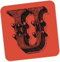 PosterGuy Square Wood Coaster Red, Black, Pack Of 1 - COAE87SNTFFZKGEE