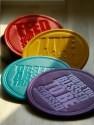 Roti Kapda Makaan Shades Of Paradise MDF Coaster Set - Pack Of 4