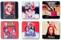 Eco Corner Classic Movies MDF Coaster Set - Pack Of 6