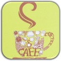 MeSleep Coffee Wooden Coaster Set - Pack Of 4 - COADXH7WHGHV4HJG