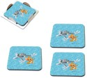 MeSleep Tom & Jerry Wooden Coaster Set - Pack Of 4 - COADVGJGA5GPJHZQ