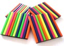 WorkshopQ Color Pencil Coaster Wooden Coaster Set - Pack Of 4