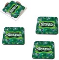 MeSleep Green Lantern Wooden Coaster Set - Pack Of 4