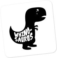 PosterGuy Whino-Saurus Minimalist Illustration Wood Coaster Multicolor, Pack Of 1