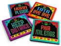 Happily Unmarried Travel Theme MDF Coaster Set - Pack Of 4