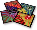 Stupid Intelligent Retro Coaster Retro Acrylic Coaster Set - Pack Of 4