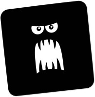 PosterGuy Square Wood Coaster Black, White, Pack Of 1