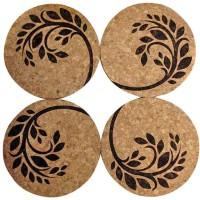 Engrave Spring Break Cork Coaster Set (Pack Of 4)