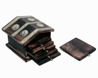 Design Hut Coaster House Wood Coaster Set Multicolor, Pack Of 7
