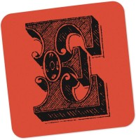 PosterGuy Square Wood Coaster Red, Black, Pack Of 1 - COAE87SNFKBWKYNN