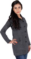 Montrex Women's Single Breasted Overcoat Coat - CATEFUJZGSVFK5X9