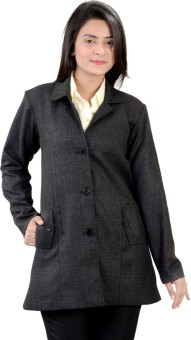 Jazzy Ben Pro Women's Single Breasted Top Coat - CATE4HZWW3CGQNEG