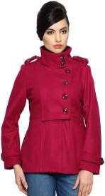 Allen Solly Women's Double Breasted Trench Coat