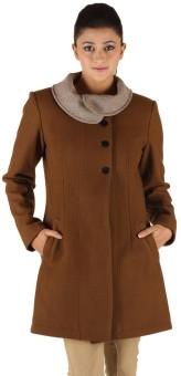 Owncraft Pro Women's Single Breasted Top Coat Coat