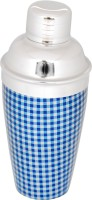 Montstar 500 Ml Stainless Steel Cocktail Shaker (Blue)