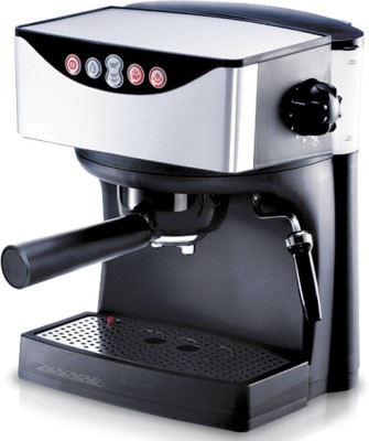 REDMOND RCM-1503, 15 bar pressure Espresso Capuccino 2 cups Coffee Maker (Black)