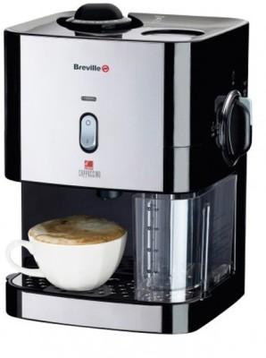 Irenes Breville Cm8 Instant Cappuccino 1 cups Coffee Maker (Black)