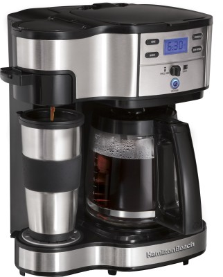 Hamilton Beach 2 Way Brewer Mug 49980 12 Cups Coffee Maker
