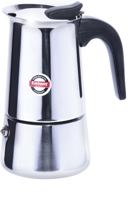 Embassy Percolator 6.0 6 cups Coffee Maker (Steel)