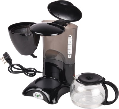 Maple MAF5 6 Cups Coffee Maker (Black)