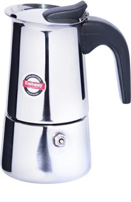 Embassy Percolator 4.0 4 cups Coffee Maker (Steel)