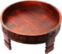 Purpledip Solid Wood Coffee Table (Finish Color - Walnut Brown)