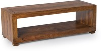 Smart Choice Furniture Solid Wood Coffee Table (Finish Color - Warm Walnut)