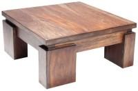 HomeEdge Solid Wood Coffee Table (Finish Color - Provincial Teak)