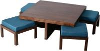 HomeEdge Solid Wood Coffee Table (Finish Color - DARK WALNUT)
