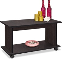 Debono Olive Coffee Table On Castors Engineered Wood Coffee Table (Finish Color - Wenge)
