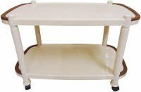 AGGARWAL FOLDING BEDS Plastic Coffee Table (Finish Color - Marble Beige) - CFTEGF7YPCMMYXGT