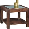 Dream Furniture India Solid Wood Coffee Table (Finish Color - Brown) - CFTE9FKZQH8DWZJ6