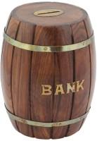 Craft Art India CAI-HD-0275 Coin Bank (Brown)