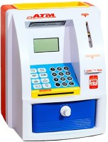 Tabu Toy ATM Machine For Kids Coin Bank (Red)