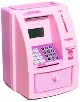 Krypton ATM Machine For Kids With Secret Code Electronic Lock With Display ATM001 Coin Bank (Multicolor)