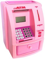 Buds N Blossoms ATM Machine For Kids Coin Bank (Multicolor)