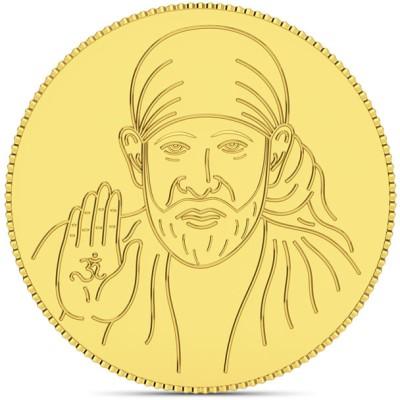 CaratLane Shirdi Sai Baba 24 K 2 g Coin