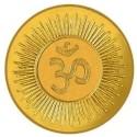 Om Gold 0.5 Gram 24 K Gold Coin