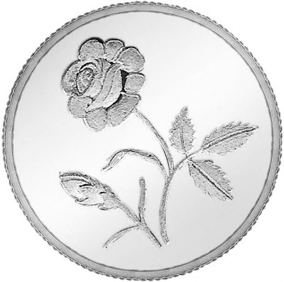 Ananth Jewels Rose S 999 1 g Coin