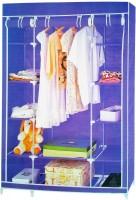 Pindia Fancy & Portable Aluminium Collapsible Wardrobe (Finish Color - Purple -wardrobe)