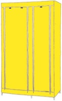MSE Jute Collapsible Wardrobe (Finish Color - Yellow)