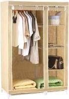 Pindia Fancy & Portable Aluminium Collapsible Wardrobe (Finish Color - Cream-B-Wardrobe)