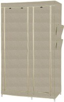 MSE Leatherette Collapsible Wardrobe (Finish Color - Gray)