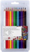 Simba Art Creation Round Shaped Color Pencils (Set Of 12, Multicolor)