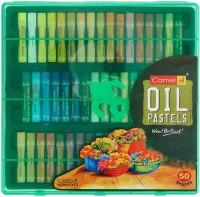 Camel Oil Pastels Round Shaped Color Pencils (Set Of 1, Multicolor)
