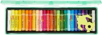 Camel Oil Pastels 25 Round Shaped Color Pencils (Set Of 1, Multicolor)