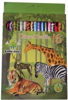 Little Tree Art Creation Round Shaped Color Pencils (Set Of 1, Multicolor) - CPSE3HZ2EW9FGNSJ