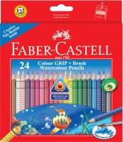 Faber Castell Grip Triangular Shaped Color Pencils (Set Of 1, Multicolour)