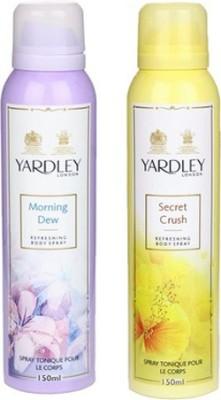 Yardley Combos Yardley Morning Dew and Secret Crush Combo Set