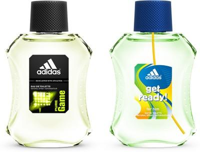 Adidas Gift Sets Adidas Get Ready & Pure Game Gift Set Combo Set